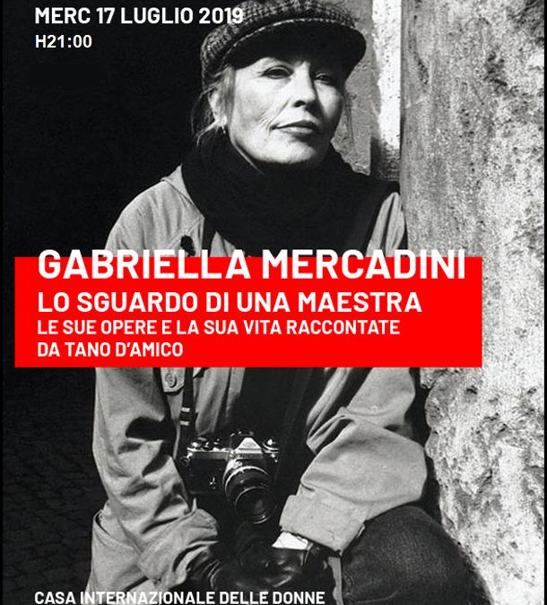 Gabriella Mercadini:Assolei e Casa Internazionale delle Donne, 17 luglio 2019